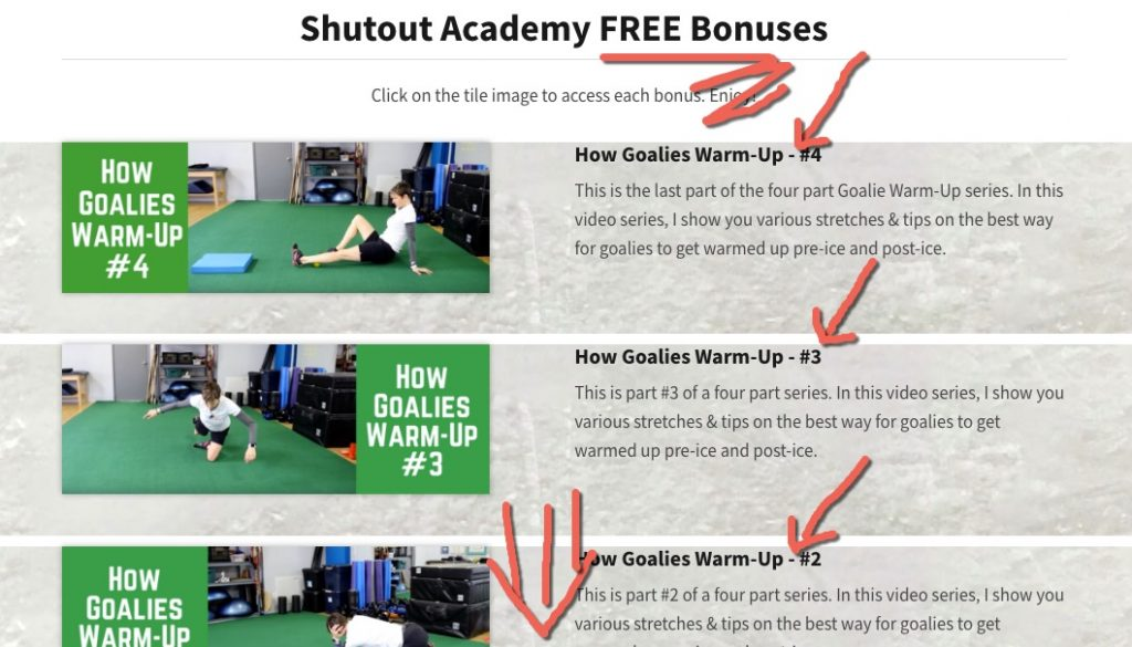 Goalie Warm Up So You Can Make Heart Stopping Saves From The Second