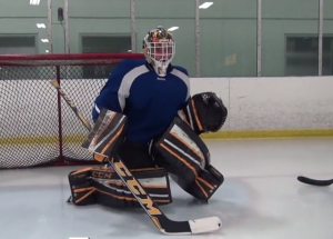 Justin fazio on ice goalie drills