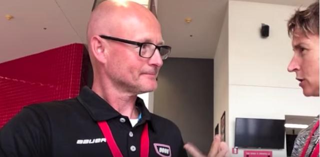 goalie training talk with Thomas Magnusson