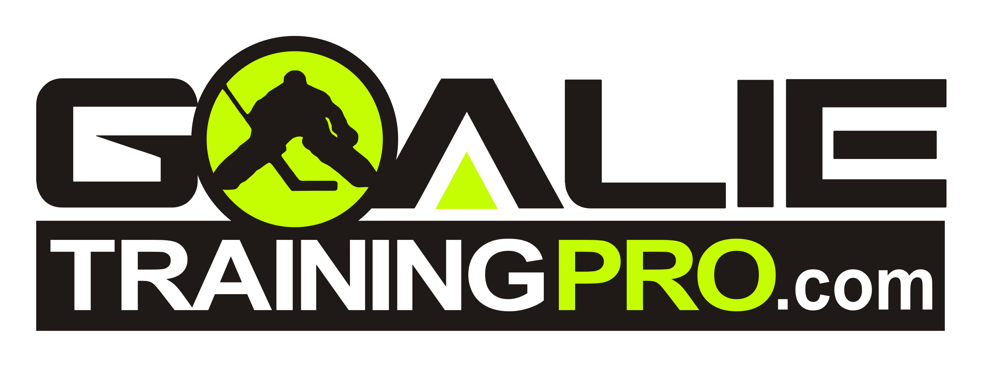 Goalie Training Pro Sticky Logo