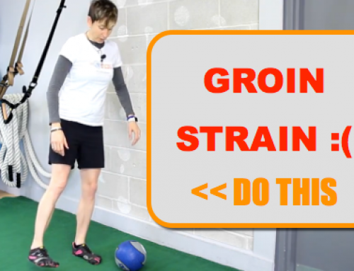 Just Strained Your Groin? Do THIS