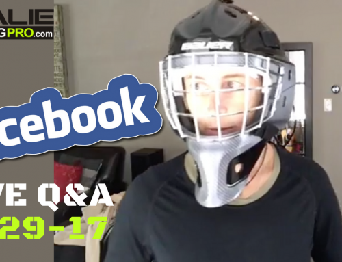 9/29 Live Q&A – Goalie Masks, Strengthening Ankles, Getting Focused for a Game