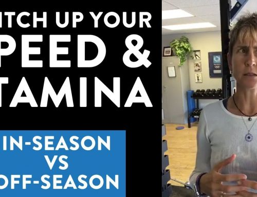 In-season vs. off-season speed & stamina training