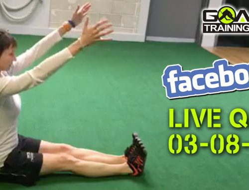 03/08 Live Q&A – Fitness Trackers, High Ankle Sprin
