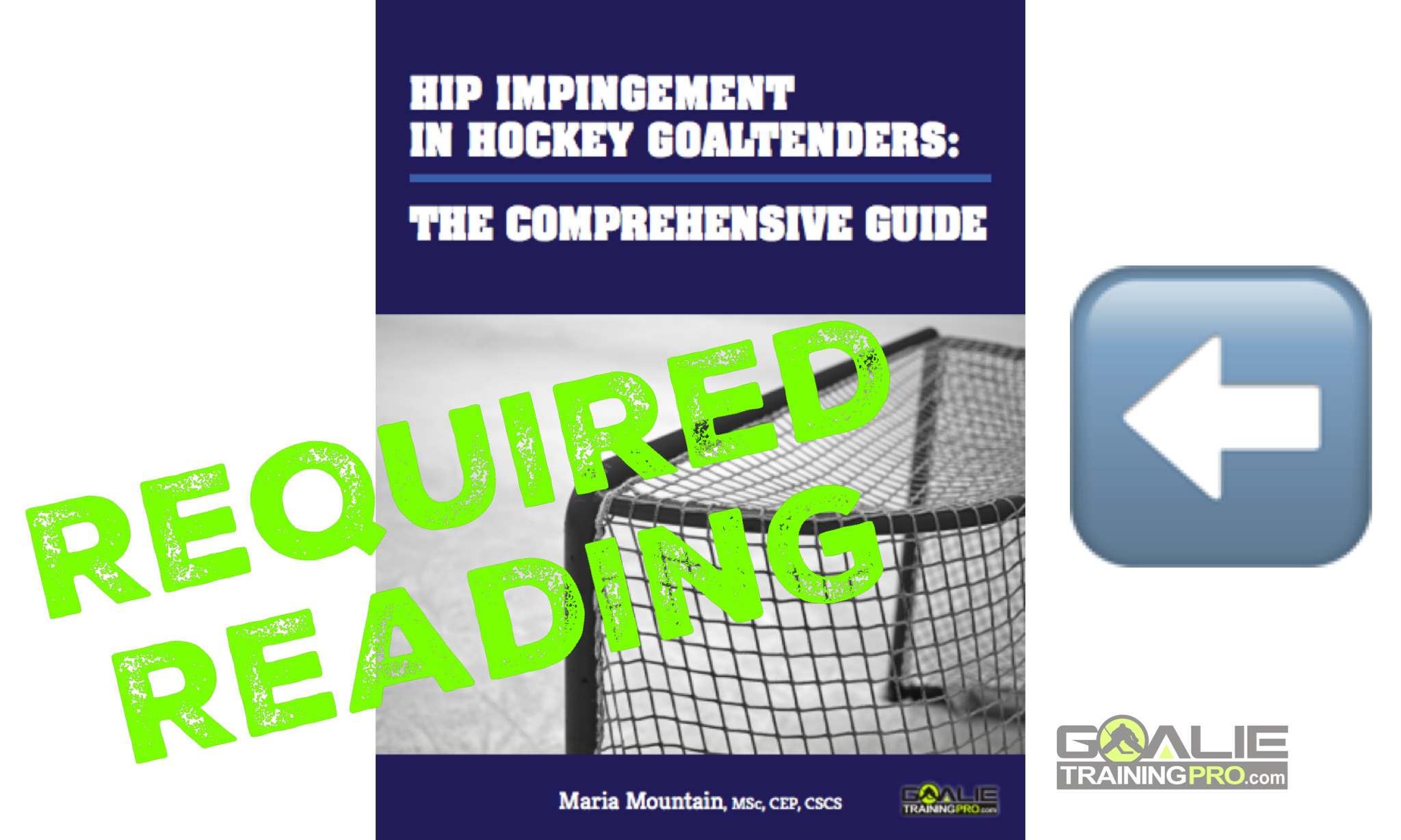 goalie training, hip pain in goalies, hip impingment