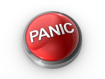 dryland goalie training panic button