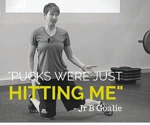 hockey goalie training
