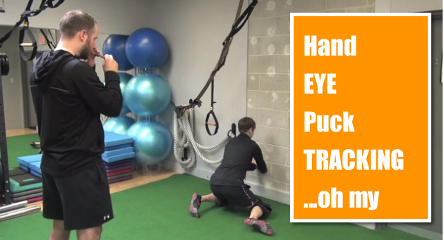 hand eye training drills for goalies