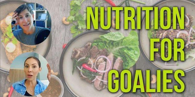 Nutrition for hockey goalies